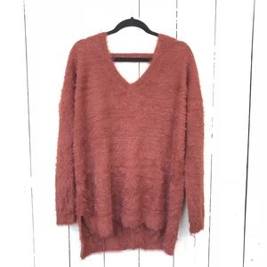 •NWT Ruby Moon fuzzy sweater• Size L